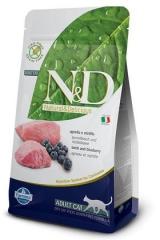 N&D Grain Free Cat Lamb & Blueberry Adult 10 Кг Беззерновой Для Взрослых Кошек Ягненок с Черникой Farmina