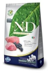 N&D Grain Free Dog Lamb & Blueberry Adult 12 Кг  Беззерновой Для Взрослых Собак Ягненок С Черникой Farmina