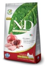 N&D Grain Free Dog Chicken & Pomegranate Adult Mini 2,5 Кг Беззерновой Для Взрослых Собак Мелких Пород Курица С Гранатом Farmina