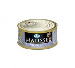 Matisse Sardine Mousse 85 гр мусс для кошек с сардинами Farmina