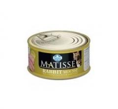 Matisse Rabbit Mousse 85 гр мусс для кошек с кроликом Farmina