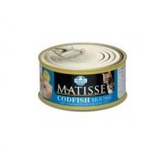 Matisse Codfish Mousse 85 гр мусс для кошек с треской Farmina