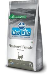Vet Life Cat Neutered Female 2 Кг Для Стерилизованных Кошек Farmina