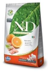 N&D Grain Free Dog Fish & Orange Adult 12 Кг Беззерновой Для Взрослых Собак Рыба С Апельсином Farmina