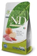 N&D Grain Free Cat Boar & Apple Adult 10 Кг Беззерновой Для Взрослых Кошек Кабан С Яблоком Farmina