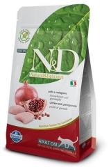 N&D Grain Free Cat Chicken & Pomegrante Adult 10 Кг Беззерновой Для Взрослых Кошек Курица С Гранатом Farmina