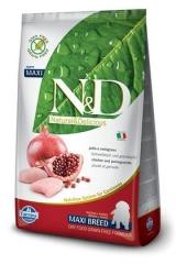 N&D Grain Free Dog Chicken & Pomegranate Puppy Maxi 12 Кг Беззерновой Для Щенков Крупных Пород Курица С Гранатом Farmina