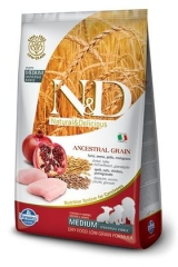 N&D Low Grain Ancestral Dog Chicken & Pomegranate Puppy 12 Кг Низкозерновой Для Щенков Курица С Гранатом Farmina