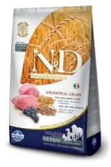 N&D Low Grain Ancestral Dog Lamb & Blueberry Adult 2,5 Кг  Низкозерновой Для Взрослых Собак Ягненок с Черникой Farmina