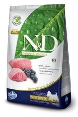 N&D Grain Free Dog Lamb & Blueberry Adult Mini 800 Гр Беззерновой Для Взрослых Собак Мелких Пород Ягненок С Черникой Farmina