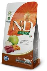 N&D Grain Free Cat Pumpkin Venison & Apple 300 гр Беззерновой Для Взрослых Кошек Оленина С Яблоком и Тыквой Farmina