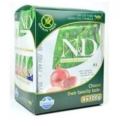 N&D Grain Free Cat Multipack Farmina