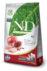 N&D Grain Free Dog Chicken & Pomegranate Adult 800 Гр Беззерновой Для Взрослых Собак Курица С Гранатом Farmina