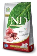 N&D Grain Free Dog Chicken & Pomegranate Puppy Mini & Medium 12 Кг Беззерновой Для Щенков Мелких И Средних Пород Курица С Гранатом Farmina