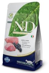N&D Grain Free Cat Lamb & Blueberry Adult 1,5 Кг Беззерновой Для Взрослых Кошек Ягненок с Черникой Farmina