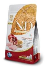 N&D Low Grain Ancestral Starter Puppy Chicken & Pomegranate 800 Гр Низкозерновой Стартер Для Щенков С Момента Отъема От Матери Farmina