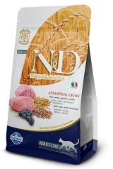 N&D Low Grain Cat Lamb & Blueberry Adult 300 Гр Низкозерновой Для Кошек Ягненок с Черникой Farmina