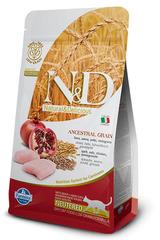 N&D Low Grain Cat Chicken & Pomegranate Neutered  1.5 кг Низкозерновой Для Стерилизованных Кошек и Кастрированных Котов Курица С Гранатом Farmina
