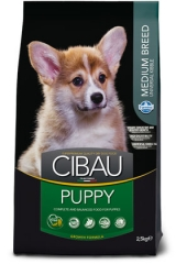 Cibau Puppy Medium 2.5 Кг Для Щенков Farmina
