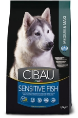 Cibau Sensitive Fish Medium & Maxi 12 Кг Для Собак С Чувствительным Пищеварением Рыба И Рис Farmina