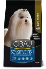 Cibau Sensitive Fish Mini 800 Гр  Для Собак С Чувствительным Пищеварением Рыба И Рис Farmina