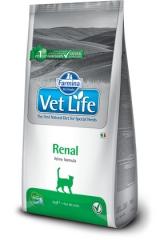 Vet Life Cat Renal 2 кг Диета Для Кошек при Почечной Недостаточности Farmina