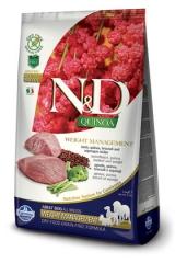 N&D Grain Free Dog Quinoa Weight Management Lamb  Adult 2,5 Кг Беззерновой Для Взрослых Собак Ягненок И Киноа Для Контроля Веса Farmina